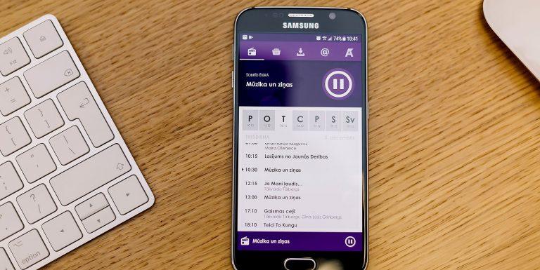 Eine plattformübergreifende Radio-App